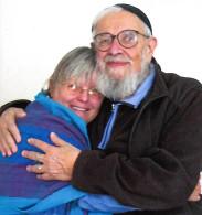 Tessa Bielecki and Zalman Schachter